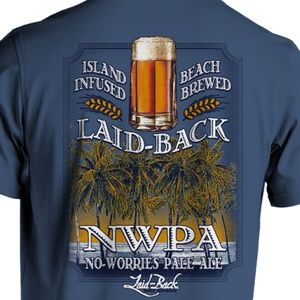 NWT Beer Preshrunk Cotton T-Shirt